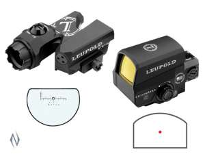 Продам комплект Leupold D-EVO 6x20mm + Leupold LCO Red Dot Дешево! - изображение 1
